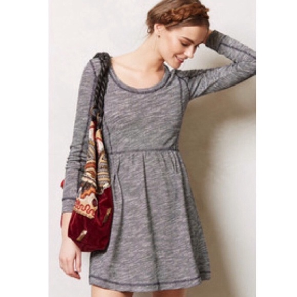 Anthropologie Dresses & Skirts - Saturday Sunday Knit Dress Sz XS Long Sleeved